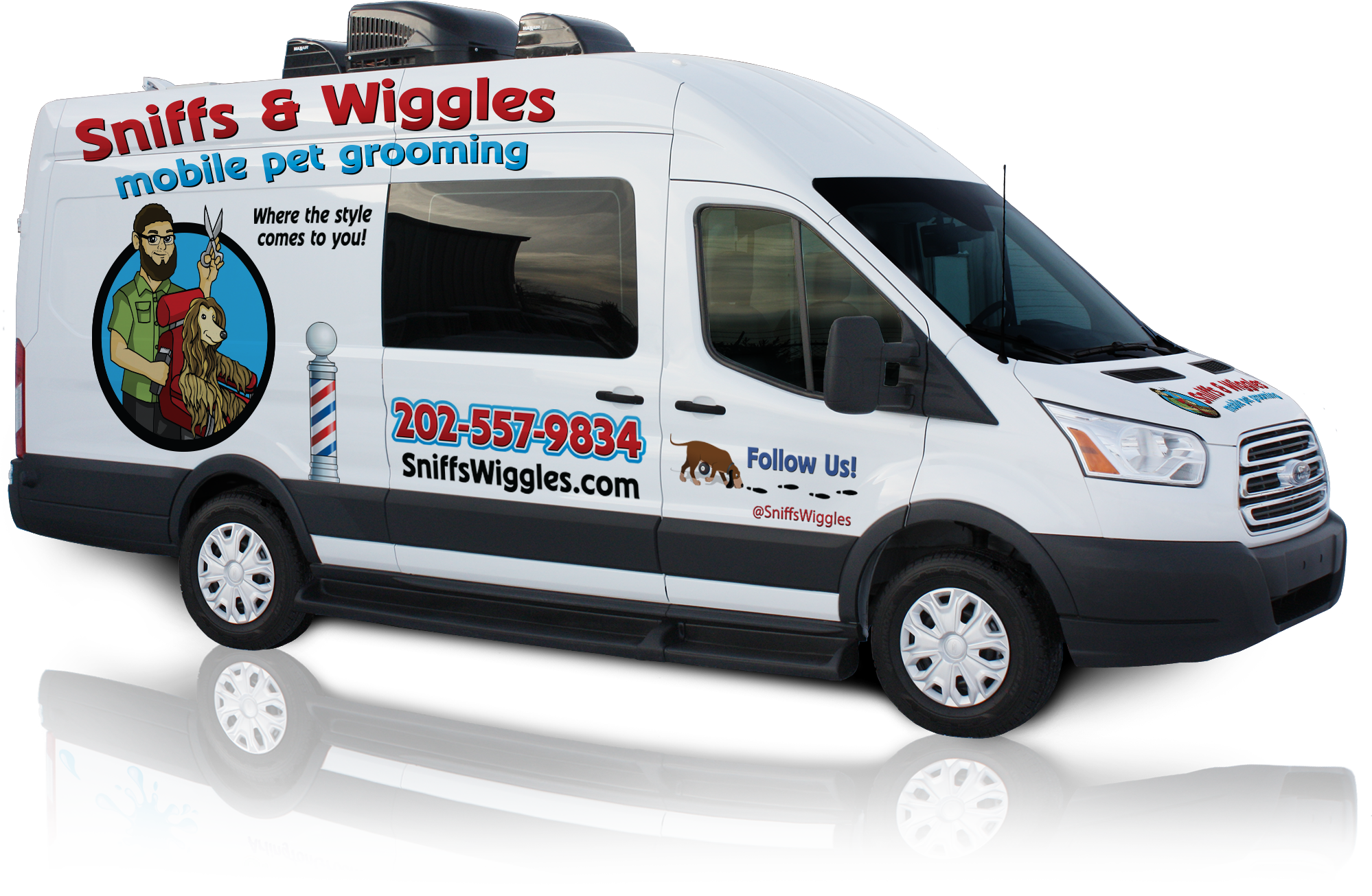 Sniffs and Wiggles Mobile Grooming